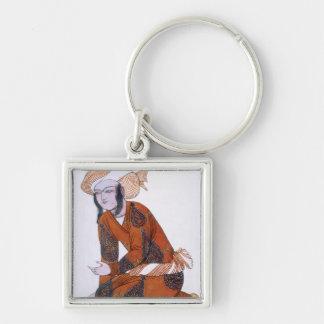Costume design for L'Adoration de Tcherepnine, 192 Keychain
