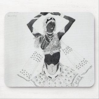 Costume design for 'Le Dieu Bleu', 1912 Mouse Pad