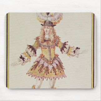 Costume design for male dancer, c.1660 mouse pad