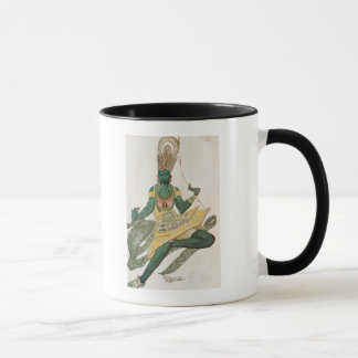 Costume design for Nijinsky as the 'Blue God' Mug