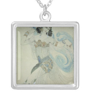 Costume design for Salome Silver Plated Necklace