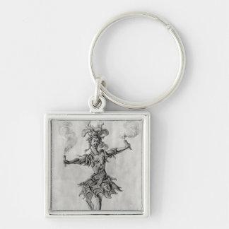 Costume design for the ballet 'Medusa' Keychain