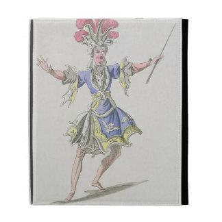 Costume design for the Magician, in Dardanus, a li iPad Folio Cases