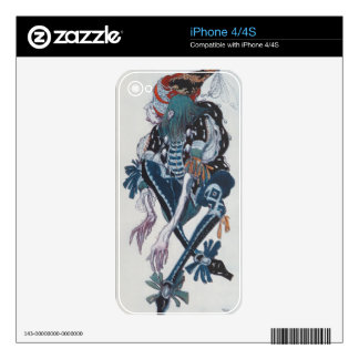 Costume design for the Pageboy of the wicked fairy Decal For iPhone 4