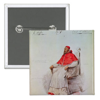 Costume design for the Pope Clement VII Button
