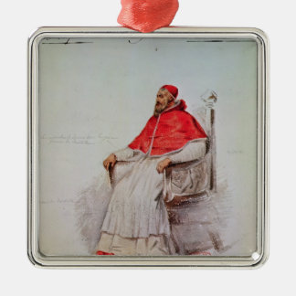Costume design for the Pope Clement VII Metal Ornament
