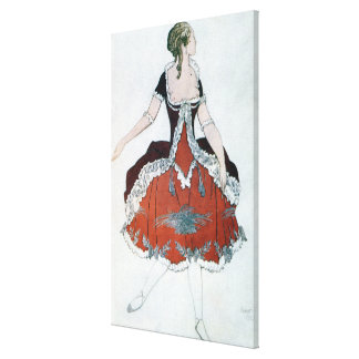 Costume design for The Princess Aurora, from Sleep Gallery Wrapped Canvas