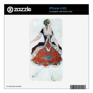 Costume design for The Princess Aurora, from Sleep Skins For iPhone 4S