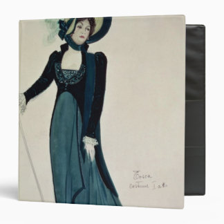 Costume design for Tosca 3 Ring Binders