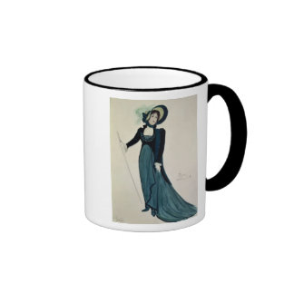 Costume design for Tosca Ringer Mug