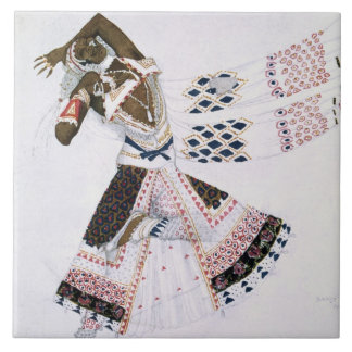 Costume design from Le Dieu Bleu, 1911 (colour lit Tile