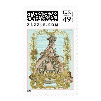Costume Design Postage Stamps