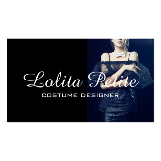 Costume Designer Fashion Seamstress Alterations Double-Sided Standard Business Cards (Pack Of 100)