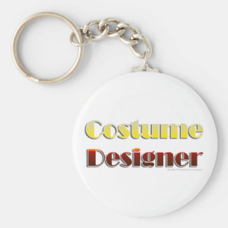 Costume Designer (Text Only) Keychain