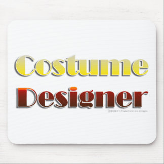 Costume Designer (Text Only) Mouse Pads