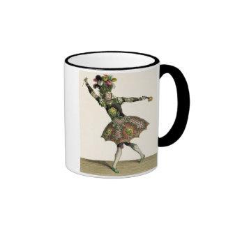 Costume for a demon in 'Armide', 'Psyche' and seve Ringer Mug