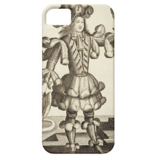 Costume for a Feather Dealer, pub. by Gerard Valck iPhone SE/5/5s Case
