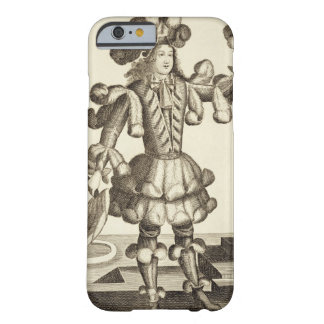 Costume for a Feather Dealer, pub. by Gerard Valck iPhone 6 Case