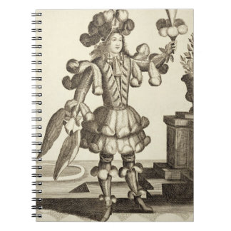 Costume for a Feather Dealer, pub. by Gerard Valck Notebooks