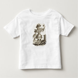 Costume for a Feather Dealer, pub. by Gerard Valck Toddler T-shirt