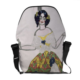Costume for a female puppet, from La Boutique Fant Messenger Bags
