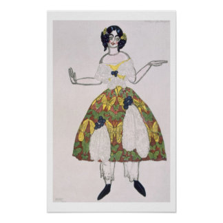 Costume for a female puppet, from La Boutique Fant Poster