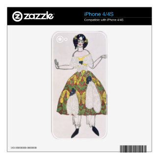 Costume for a female puppet, from La Boutique Fant Skin For iPhone 4