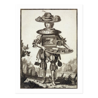 Costume for a Pastry Cook, pub. by Gerard Valck (1 Postcard