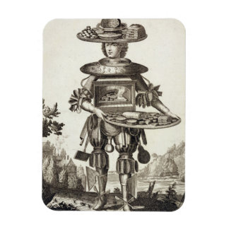Costume for a Pastry Cook, pub. by Gerard Valck (1 Rectangular Photo Magnet