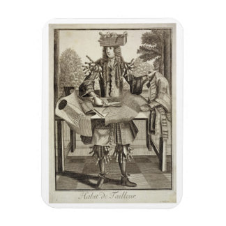 Costume for a Tailor, pub. by Gerard Valck (1651/2 Rectangular Photo Magnet