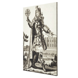 Costume for an Astrologer, pub. by Gerard Valck (1 Canvas Print