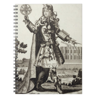 Costume for an Astrologer, pub. by Gerard Valck (1 Spiral Notebooks
