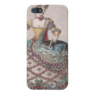 Costume for an Indian woman iPhone 5 Case