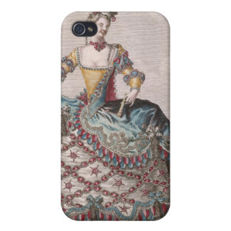 Costume for an Indian woman Cases For iPhone 4