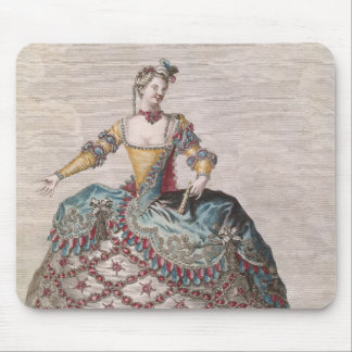 Costume for an Indian woman Mousepads