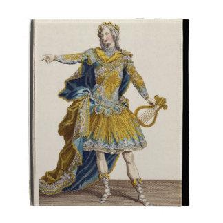 Costume for Apollo in the opera 'Phaethon', engrav iPad Folio Covers