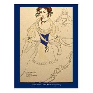 Costume for 'Effie' in LA SYLPHIDE post card