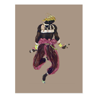 Costume for Scheherazade by Leon Bakst Postcard