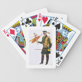 Costume for the Englishman, from La Boutique Fanta Bicycle Playing Cards