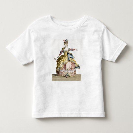Costume for the Queen of the Sylphs in the Ballet Toddler T-shirt