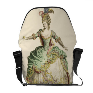 Costume for Venus in several operas, engraved by t Messenger Bags