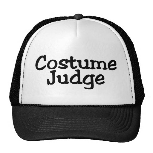 Costume Judge Hat