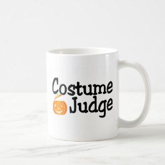 Costume Judge Pumpkin Classic White Coffee Mug