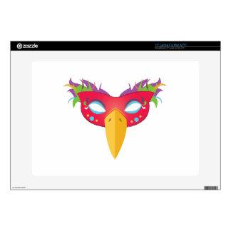 "Costume Mask 15"" Laptop Skins"