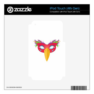 Costume Mask iPod Touch 4G Decals