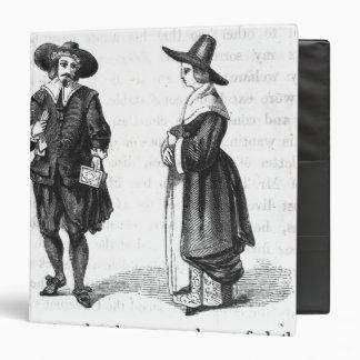 Costume of the Pilgrims Binder