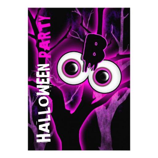 Costume party halloween kids adults custom invitations