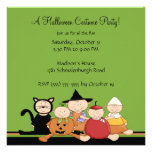 Costume Party Halloween Party Invitation