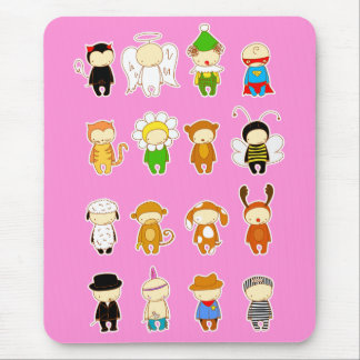 costume party mouse pad