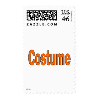 Costume Postage Stamps